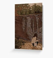 Down by the Lake Greeting Card
