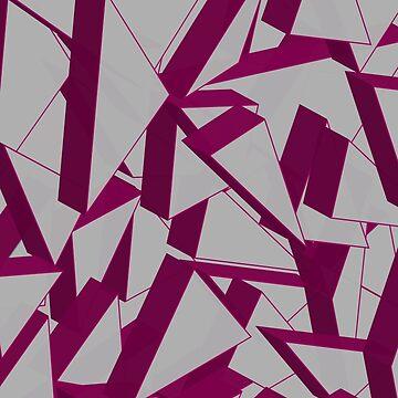 3D Broken Glass IV by tamaya111