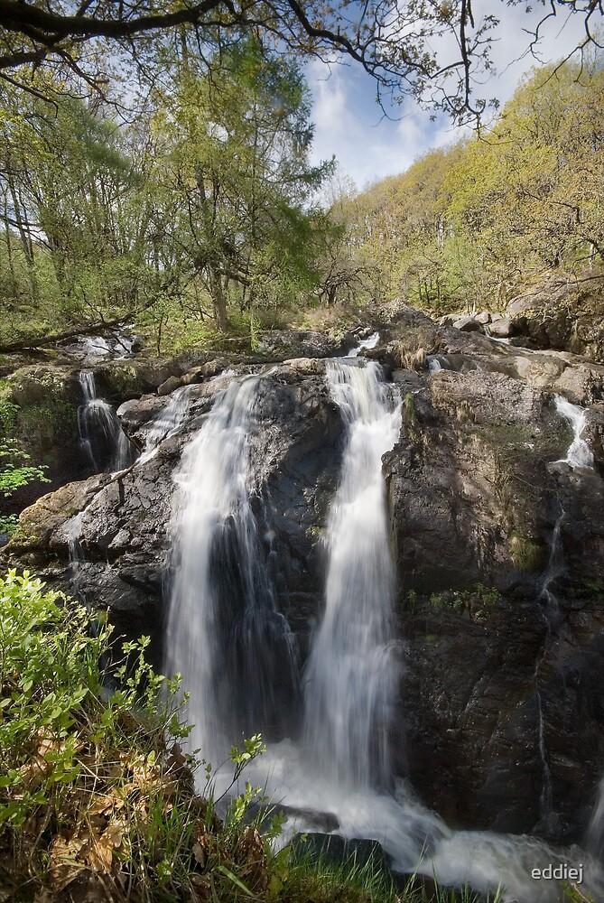 The Black Falls - Snowdonia by eddiej