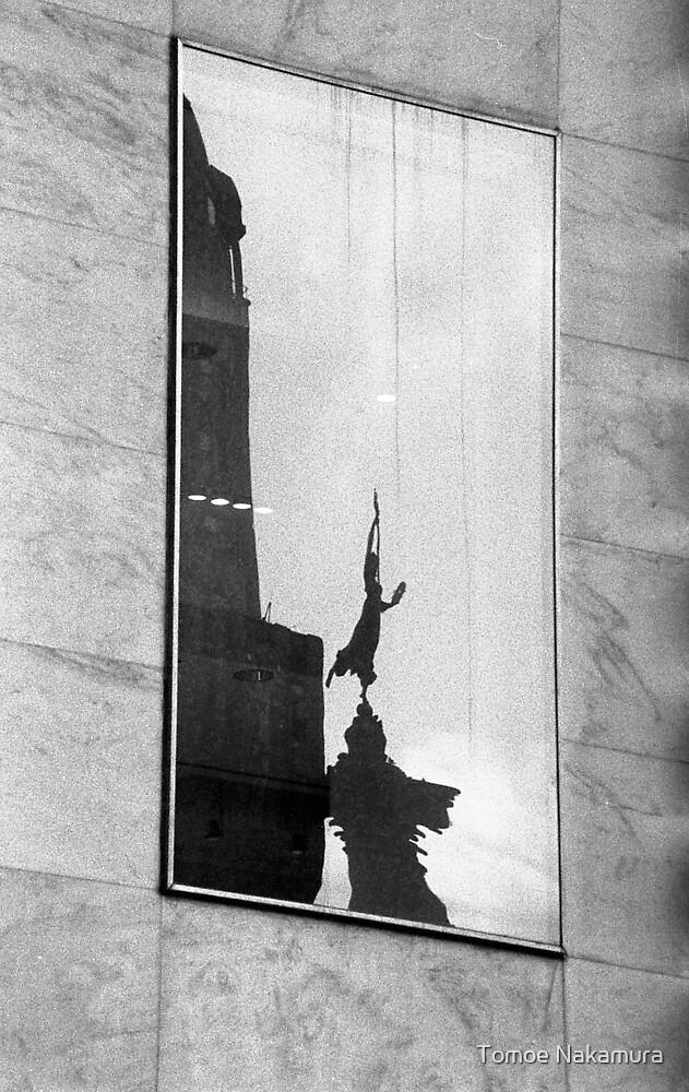 Union Square Reflection by Tomoe Nakamura