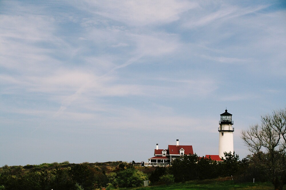 The lighthouse by Jeff  Wilson