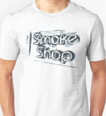 Smoke Shop Cigar Smoking Vaping Unisex T-Shirt