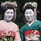Happy Geishas by David Clarke