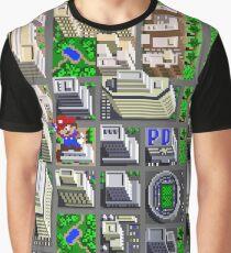 Sim Stadt / Großstadt Grafik T-Shirt