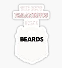 Paramedic beards gift t-shirts Sticker  sc 1 st  Redbubble : paramedic gift ideas - medton.org