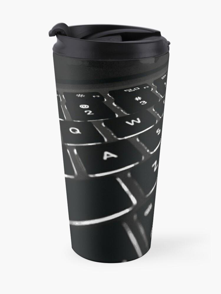 Alternate view of COMPUTER DISPLAY Pop Art Travel Mug