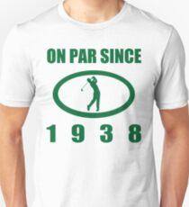 1938 Birthday Golf Humor Unisex T-Shirt