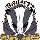 Badgers - Resist by bethwodzinski