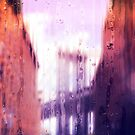 Rainy days in New York - The Brooklyn Bridge by Serge Averbukh