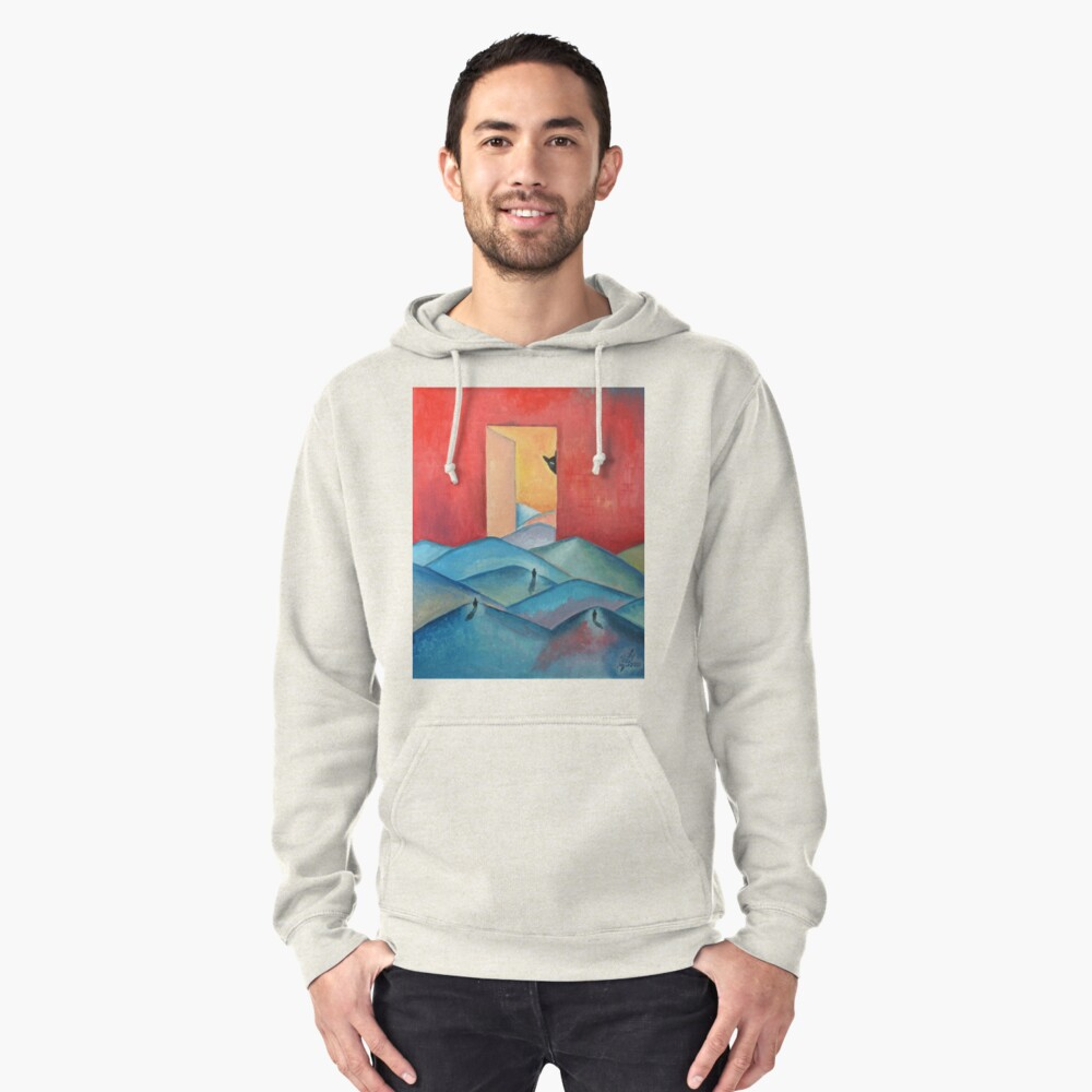 """Oil Painting - """"Stalker"""" Poster 2000 Pullover Hoodie Front"""