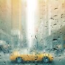 Rainy days in New York - Corner of the 6th by Serge Averbukh
