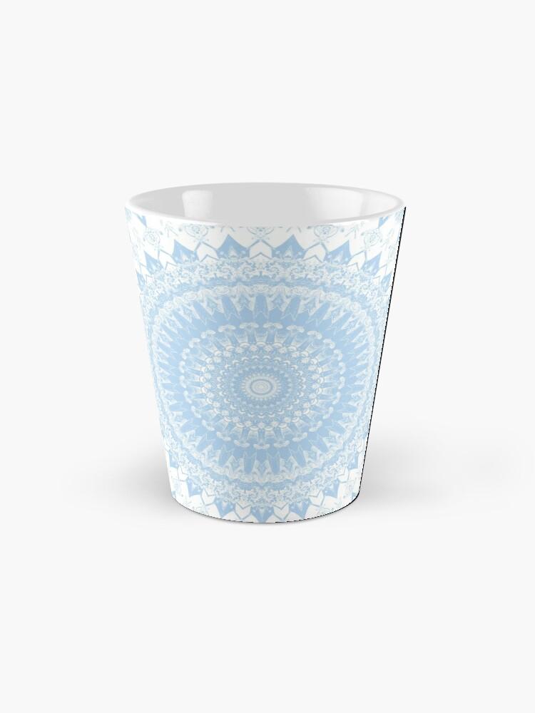 Alternate view of Baby Blue Boho Mandala Mugs