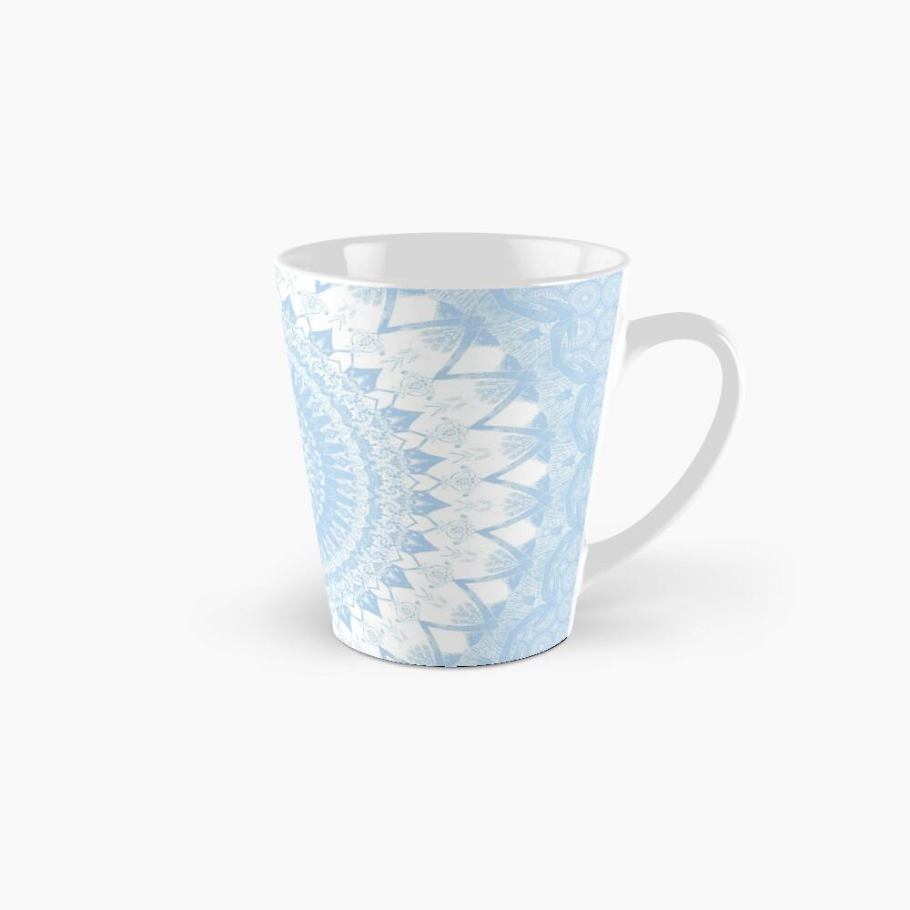Baby Blue Boho Mandala Mugs