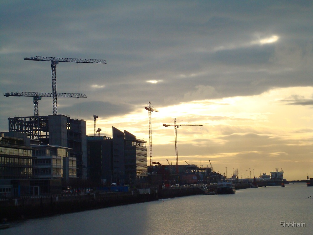 early morning on the Liffey 4  by Siobhain