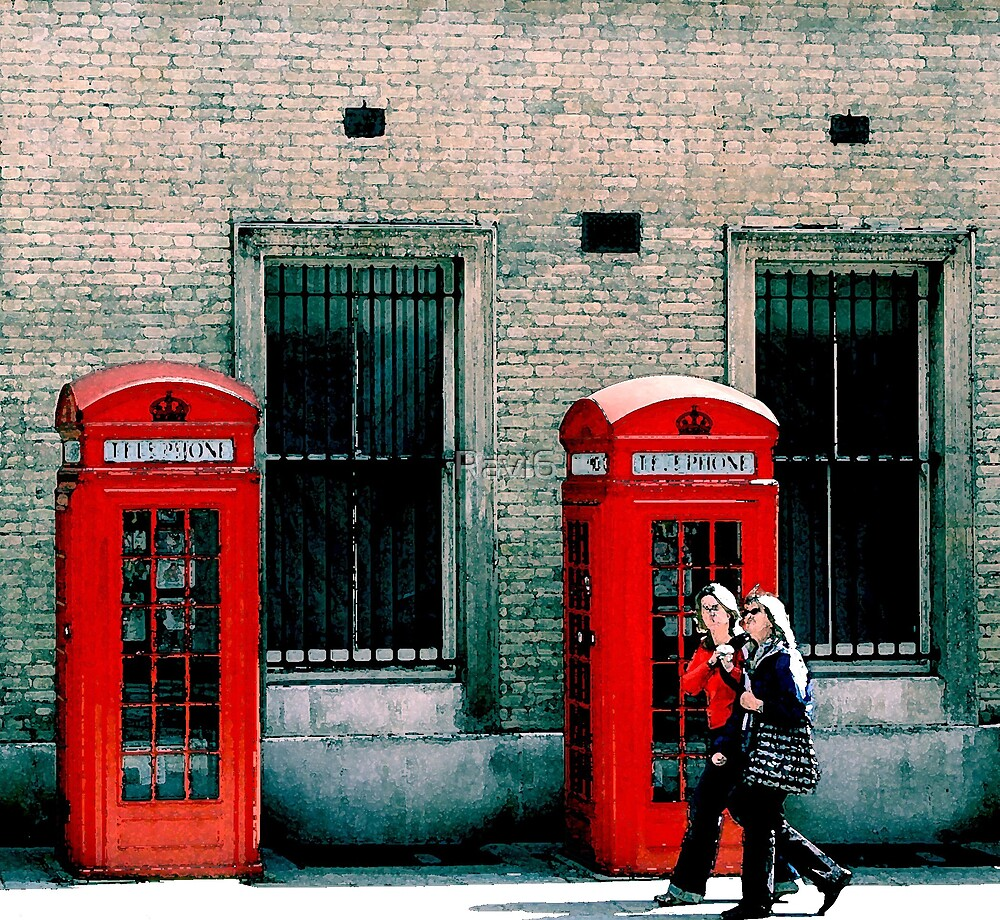 Red Phone Boxes by Ravi6