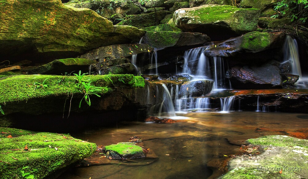 Return to Lower Somersby - Somersby Falls, NSW by Malcolm Katon