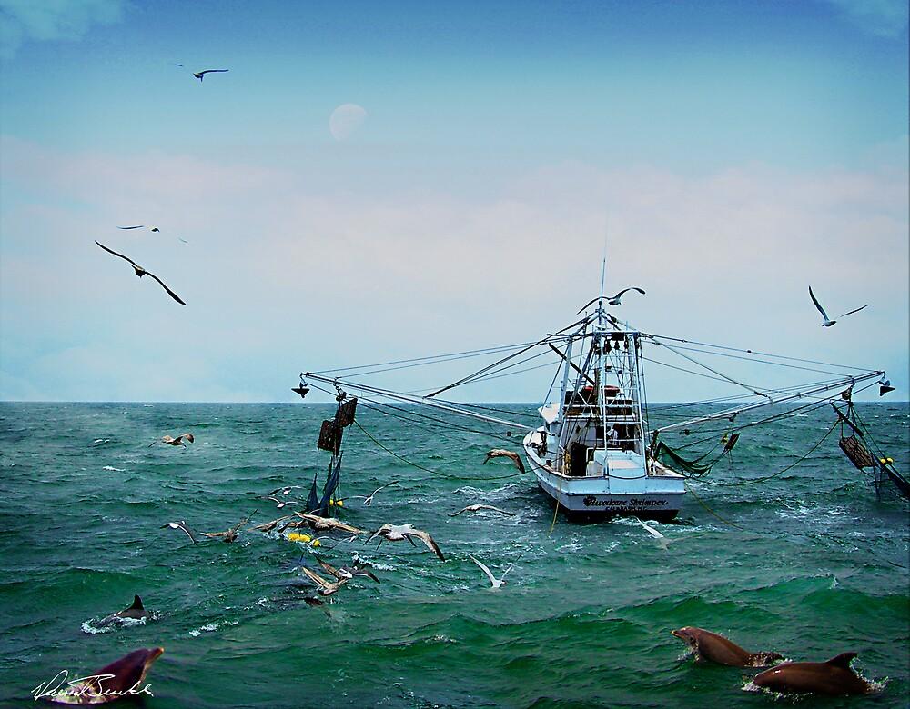 Shrimp Boat by David Buckle