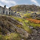 Old Barracks - Cwmorthin by eddiej