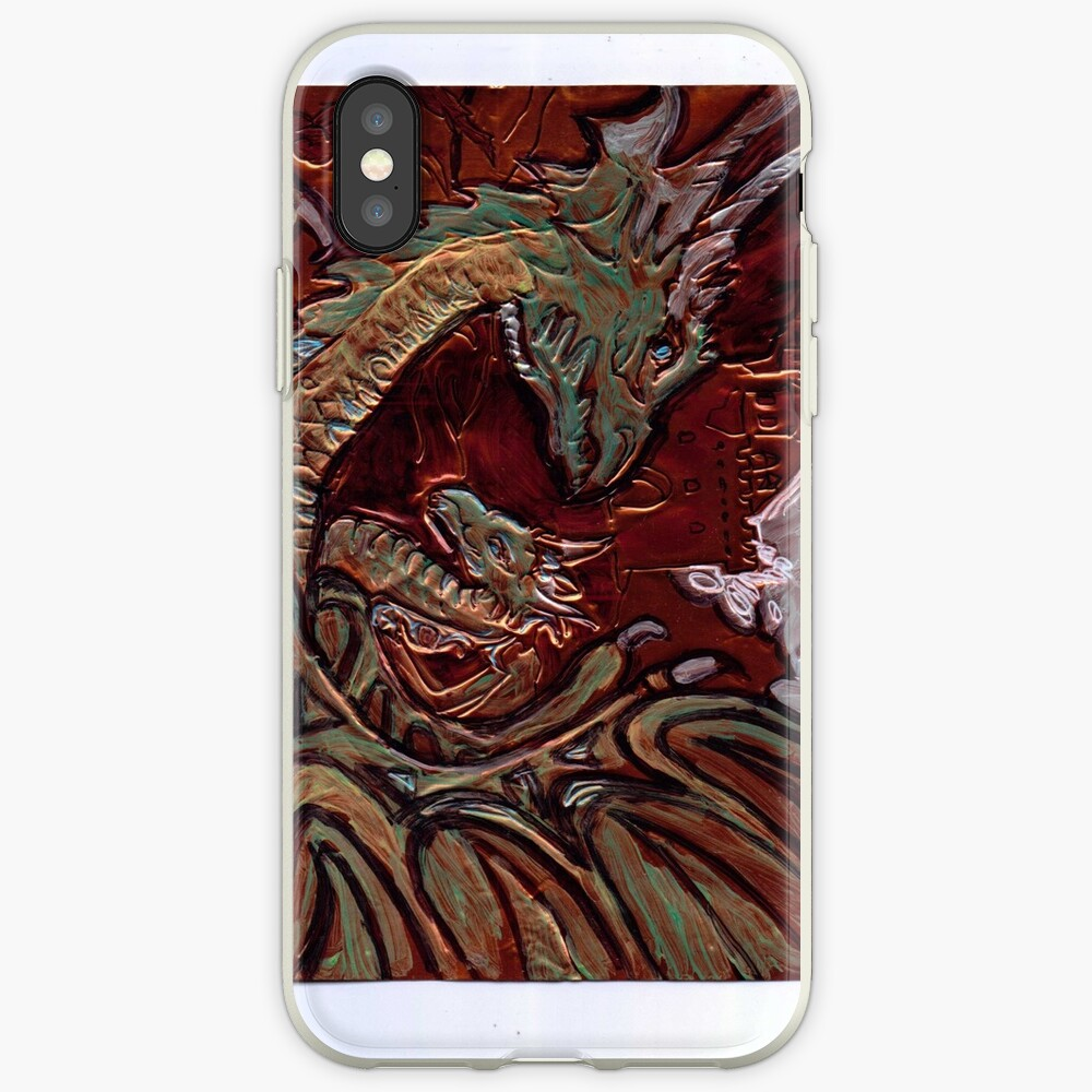 DRAGONS Funda y vinilo para iPhone