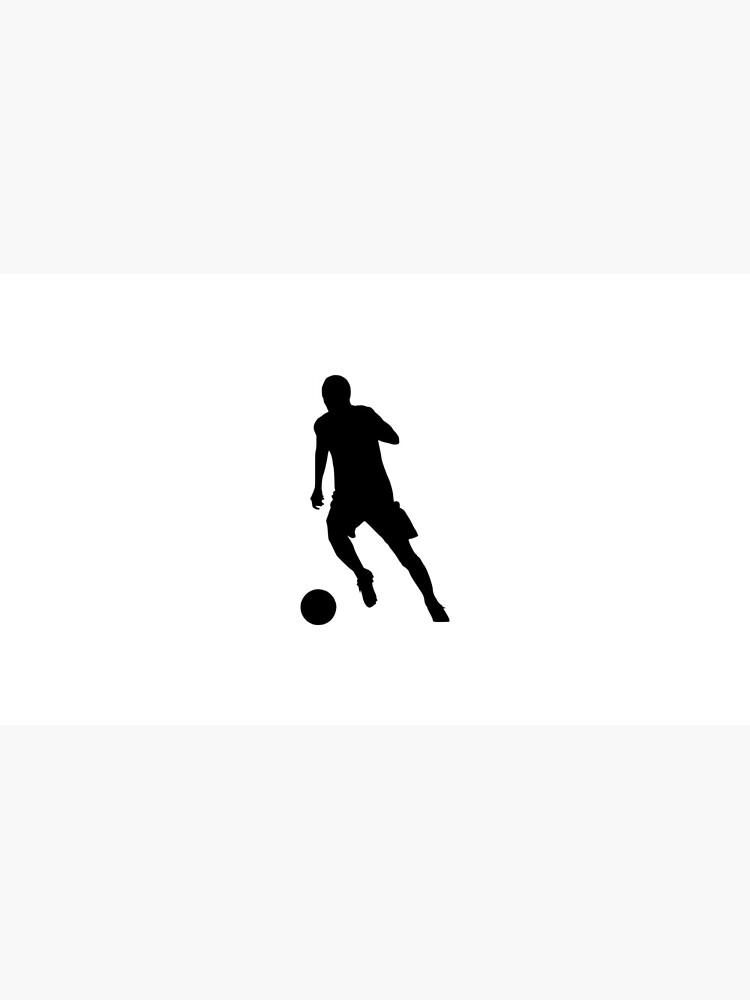 Fußballspieler Dribbeln Fußball Sport Mannschaft Team WM von Kampfkeiler