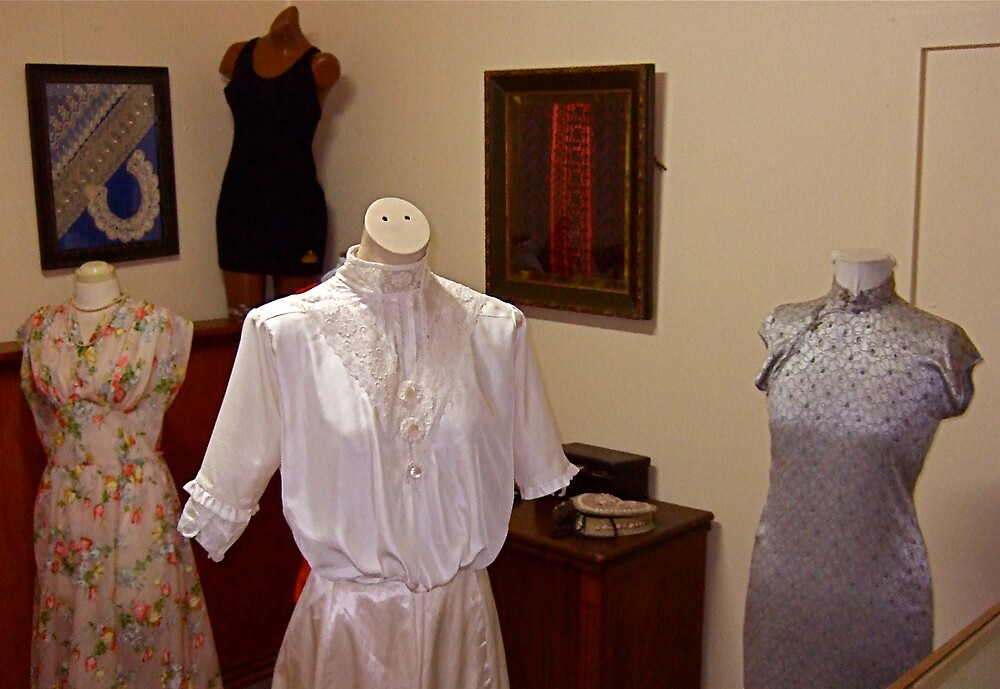 Hope Cottage Museum, Ann Davies clothing by Dean Wiles