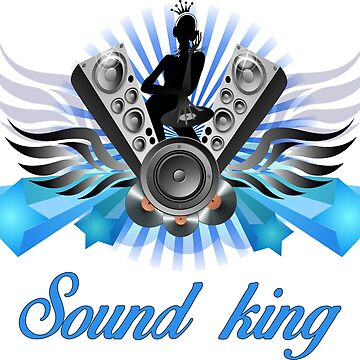 King Of The Sound T-Shirts by albertosm