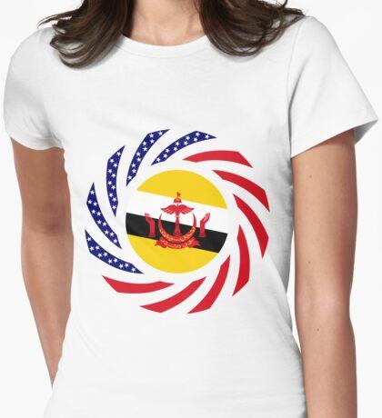 Bruneian American Multinational Patriot Flag Series T-Shirt
