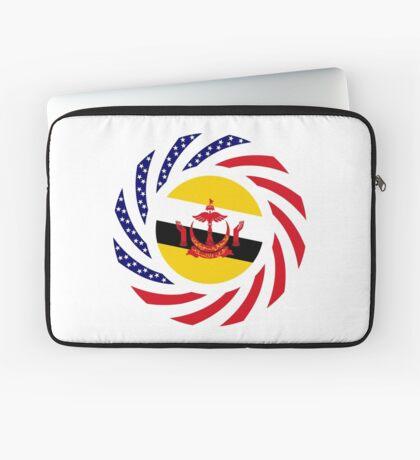 Bruneian American Multinational Patriot Flag Series Laptop Sleeve