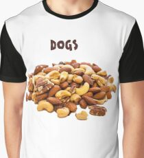 Dogs NUTS Fun Humour Graphic T-Shirt