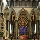 Salisbury Cathedral by AncientSnapper