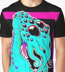 Blue Alien Graphic T-Shirt