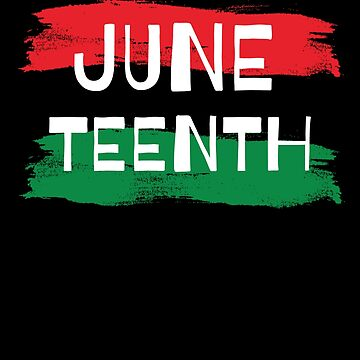 Juneteenth Pan African Flag by hackershirtsio
