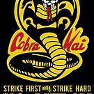 Cobra Kai  by myronmhouse