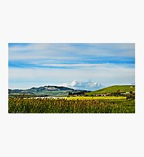 Green hills of Sicily Photographic Print
