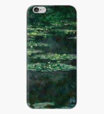 Waterlilies by Claude Monet iPhone Case