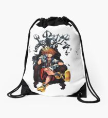 Keyblade Throne Drawstring Bag