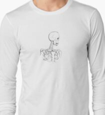 Cautious in Death  Long Sleeve T-Shirt
