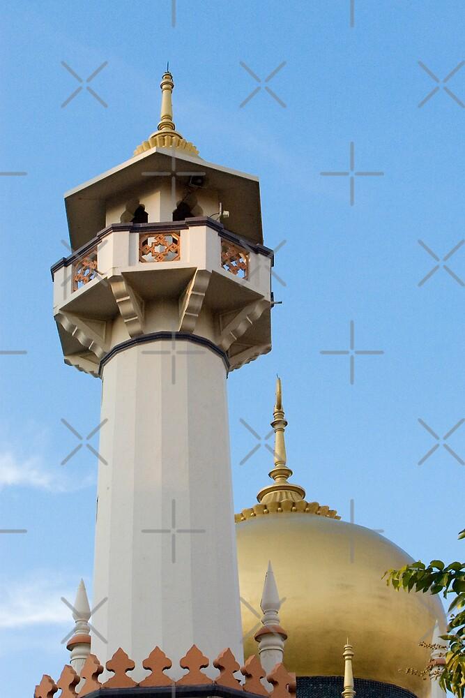Sultan Mosque by Adrianne Yzerman