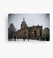 Birmingham Cathedral Canvas Print