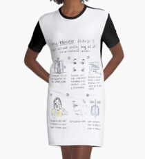 fears comic Graphic T-Shirt Dress