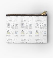 fears comic Zipper Pouch