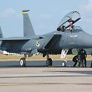 F-15 Eagle by Jeff Ore