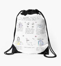 fears comic Drawstring Bag