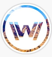 Westworld No Letters Sticker