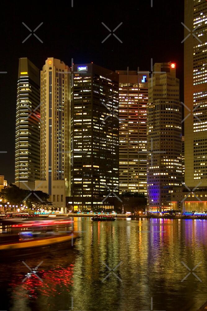 Singapore River by Adrianne Yzerman