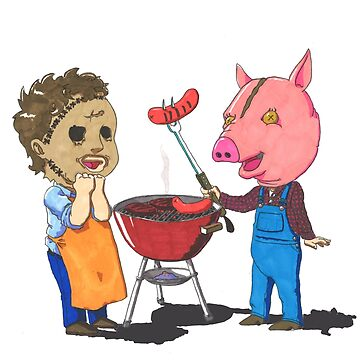 People lover's Barbecue by TheArtofRuff