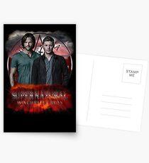 Supernatural Winchester Bros Postcards