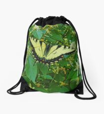 Among The Honeysuckles Drawstring Bag