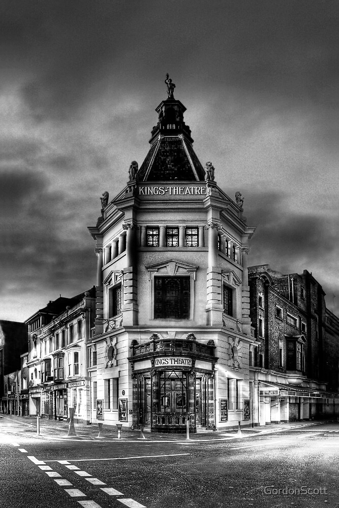 The Kings Theatre at dawn by GordonScott