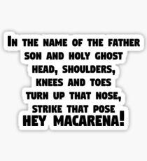Hey Macarena! Bo burnham Sticker